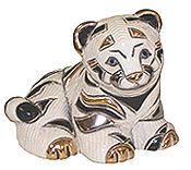 White Tiger Cub Sitting # 1720B Rincababy Collection