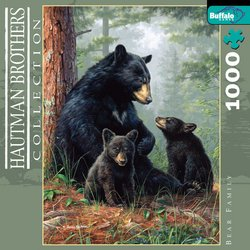 Bear Family Hautman Brothers Collection 1000 Piece Jigsaw Puzzle