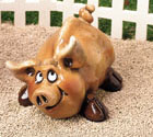 "4"" Half Pint Pig Beasties Figurine"