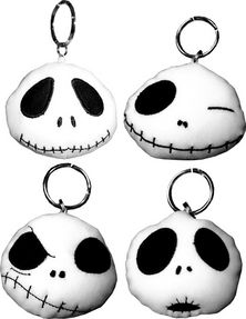 The Nightmare Before Christmas Jack Microfiber Keychains