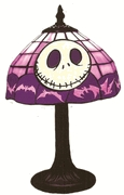 The Nightmare Before Christmas Tiffany Style Lamp