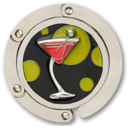 Happy Hour Martini Hang Em' High Purse Hanger