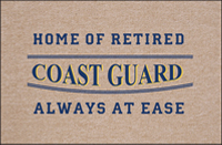 Retired Coast Guard Doormat