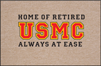 Retired USMC Doormat