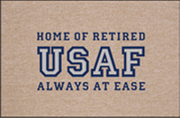 Retired USAF Doormat