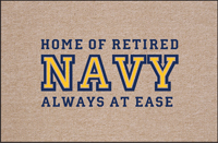 Retired NAVY Doormat