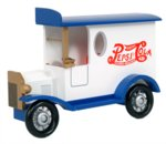 Pepsi Wooden Truck Wall Art