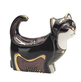 Walking Kitten #1001 Artesania Rinconada Emerald Collection