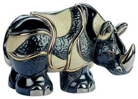 #1007 Rhino Artesania Rinconada Emerald Collection