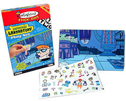 Dexter's Laboratory Colorforms Play Set
