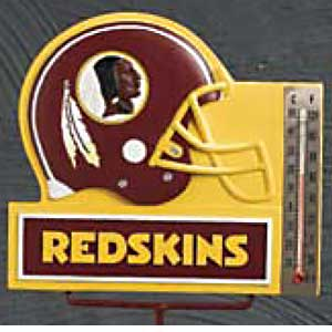 Washington Redskins NFL Thermometer