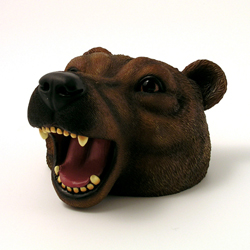Brown Bear Money Bank by Swibco
