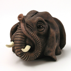 Elephant Money Bank by Swibco
