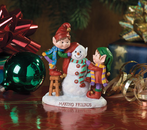 Making Friends Jingle Elves Vignette