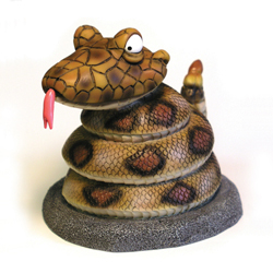 Rattle Snake Funny Money Bank