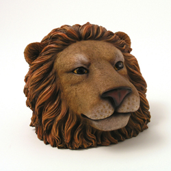 Lion Face Money Bank by Swibco