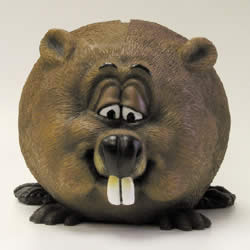 Beaver Fun Money Bank by Swibco