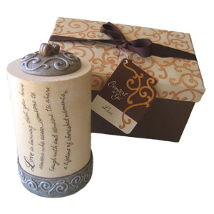 "4"" Love Comfort-to-Go Candle"