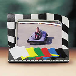 Racing Flags Photo Frame