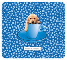 Keith Kimberlin Yellow Lab Mouse Pad