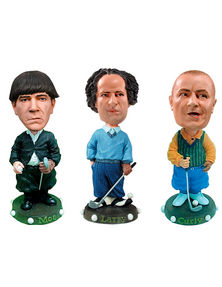Three Stooges Golf Head Knocker 3-pack