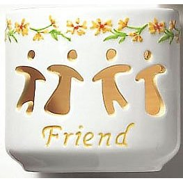 Waxcessories Floral Friend Message Votive