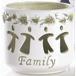 Family Message Votive Friendship Lights