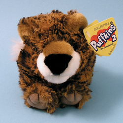 Terrence Tiger Puffkins 2 Plush