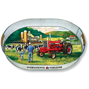 Farmall 1206 Oval Metal Tray