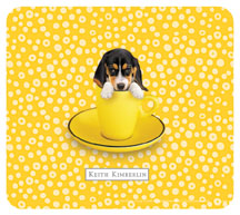 Keith Kimberlin Beagle Puppy Mousepad