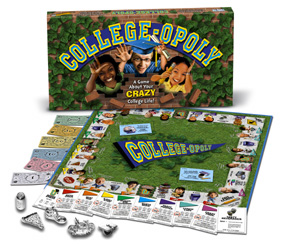 College-Opoly Board Game