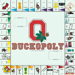 Buckopoly Ohio Opoly Board Game