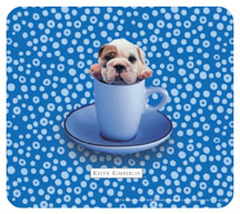 Keith Kimberlin Bulldog Puppy Mousepad