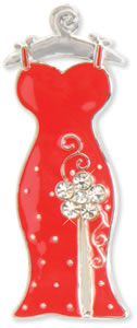 Finders Key Purse Scarlet Dress Key Finder