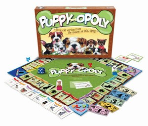 Puppy-Opoly Kids Board Game 5-8