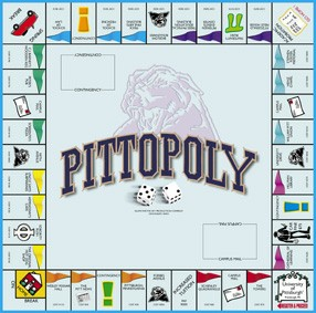 Pitt-Opoly Board Game