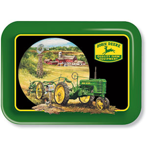 Care Package John Deere Metal Tray