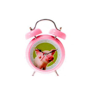 Present Time Pig Sound Alarm Clock