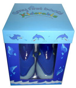 Kidorable My First Boots - Dolphin