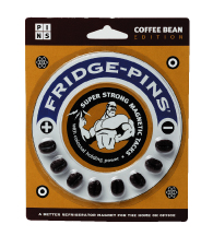 Hog Wild Coffee Bean Fridge Pins