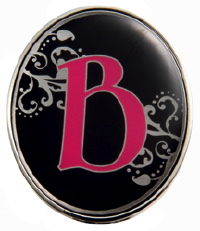 """B"" Monogrammed Key Finder - Finders Key Purse"