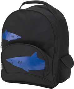 Shark Full Size School Backpack by Four Peas
