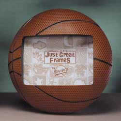 Basketball 3-D Sports Photo Frame