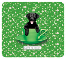 Keith Kimberlin Black Lab Mousepad