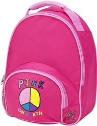 Pink On Earth Toddler Preschool Backpack by Four Peas
