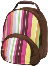 Spunky Stripe Toddler Preschool Backpack by Four Peas