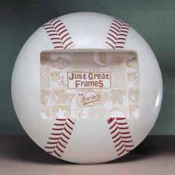 Baseball Sports 3-D Photo Frame
