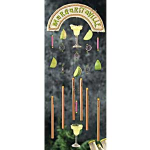 Encore Drink Margarita  Wind Chime
