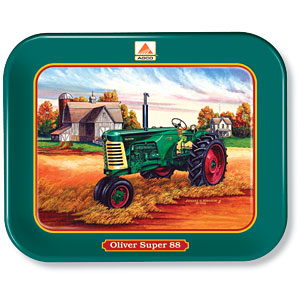 "Allis-Chalmers Oliver ""Super 88"" Metal Tray"