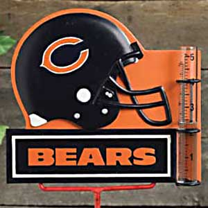 Chicago Bears NFL Rain Gauge